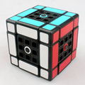 Fangshi LimCube Dual 3x3x3 Velocidad Cubo Mágico Juego de Cubos de Juguetes Educativos para Niños de Los Niños