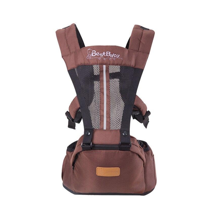 Best Baby 3-36 M Soft Breathable Multifunctional Load 20Kg Back Front Facing Baby Carrier Adjustable Detachable Newborn Sling