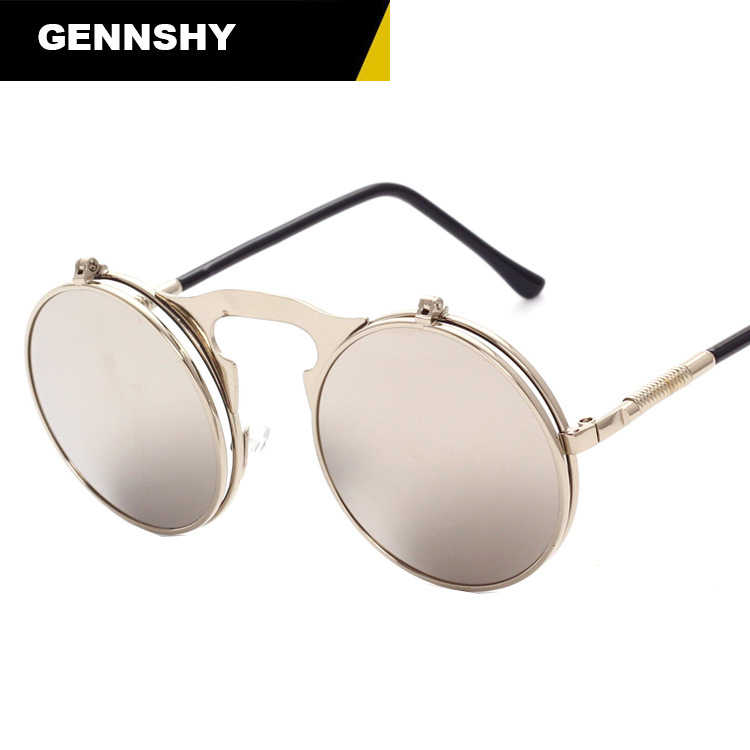 fbd75ad0900c Detail Feedback Questions about Flip Up Steampunk Sunglasses Men ...