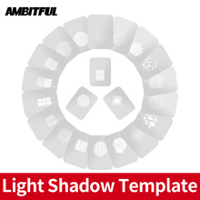 AMBITFUL AL 16 Focalize Conical Snoots Light Shadow Template Modeling Piece  with Chinese Modern Window Pastoral Style