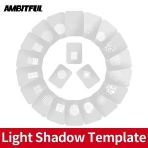 Image 1 - AMBITFUL AL 16 למקד חרוטי Snoots אור צל תבנית דוגמנות חתיכה עם סיני מודרני חלון פסטורלי סגנון