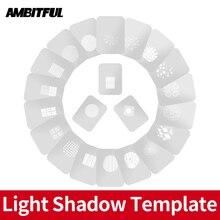 AMBITFUL Фотофон конический тубус светлый тень шаблон для моделирования с китайским современным окном в пасторальном стиле