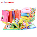 Baby Toy Infant 3D Cloth Book Baby Toys 0-12 Months Early Learning & Education Carton Series Book for Children Soft Baby Books