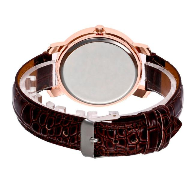 Luxury Watches Women Fashion Quartz Wrist Ladies Watch Exquisite Rhinestone Leather Women Bracelet Watches Reloj Relogio #D