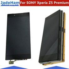 Оригинальный 5,5 «Дисплей для SONY Xperia Z5Premium ЖК-дисплей Сенсорный экран с рамкой для SONY Xperia Z5P ЖК-дисплей Дисплей E6853 E6883 E6833