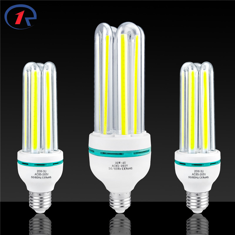 ZjRight E27 COB LED Energy Saving light bulb 3W 7W 12W 20W 32W Living room,bedroom,indoor,home,library,office,factory tube Lamp