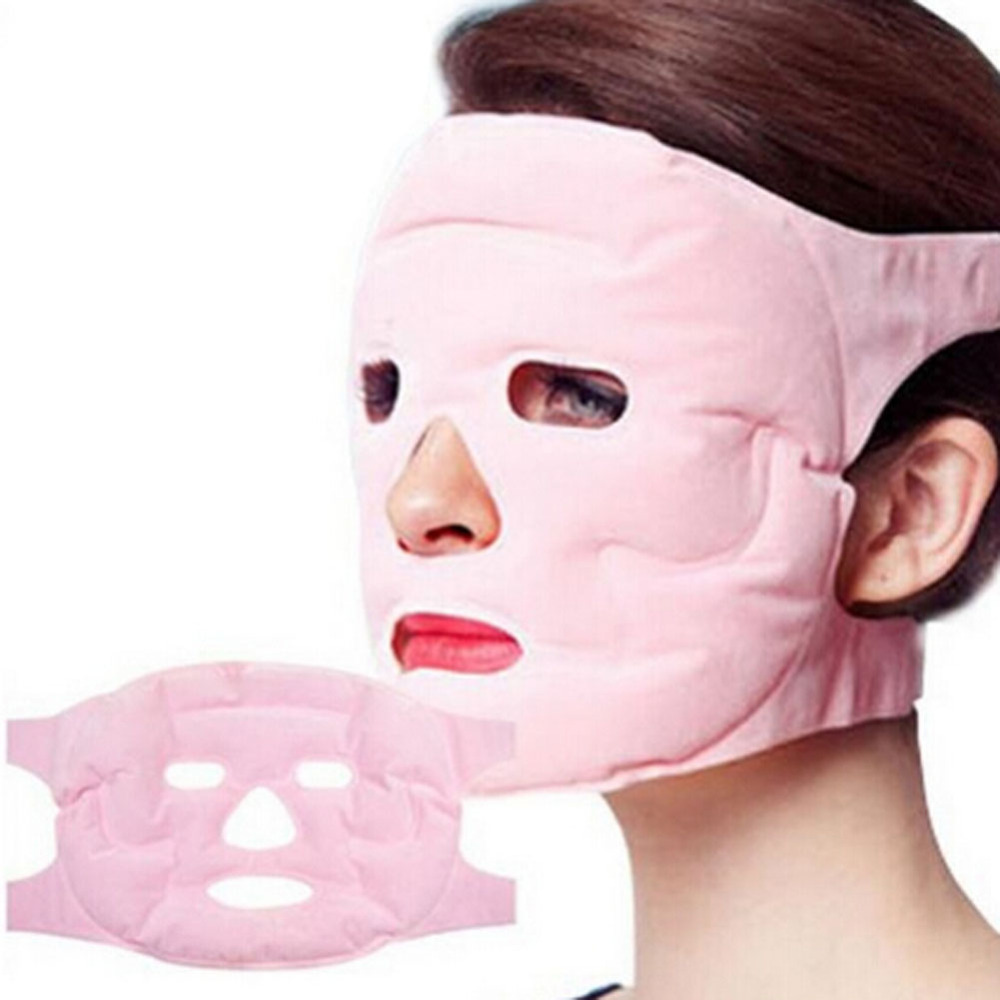 New Tourmaline Gel magnet Facial Mask Relax Slimming Beauty massage face Mask thin Face remove pouch Health Care himabm 1 pieces sericite biotite tourmaline maifan stone guasha board health care thin face slimming skin care treatment
