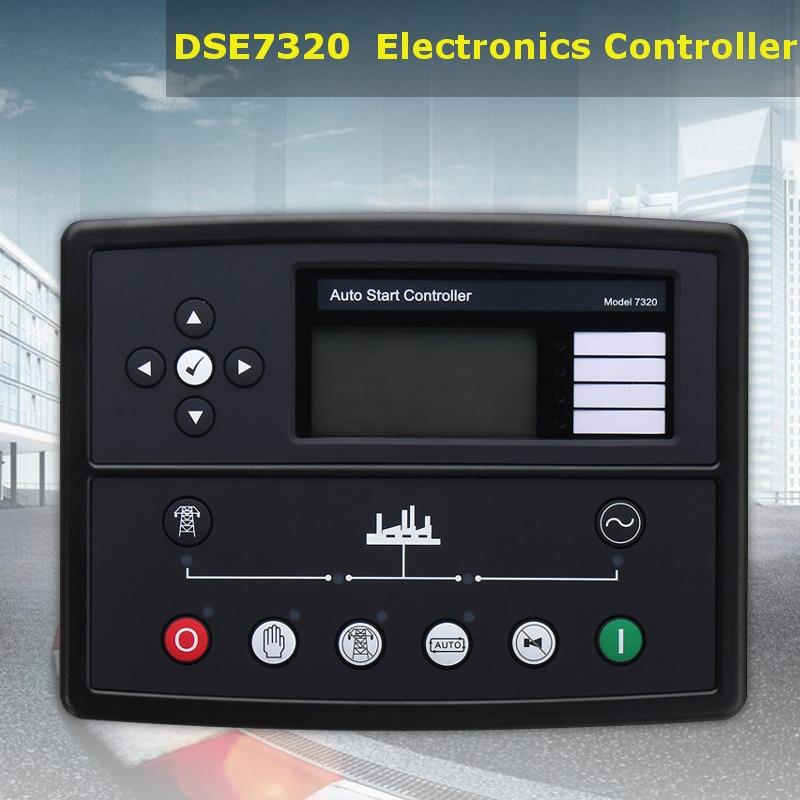 Newest Deep sea controller DSE7320 Generator Genset Auto Start Control Module New Electronics Controller Control Module Panel недорого