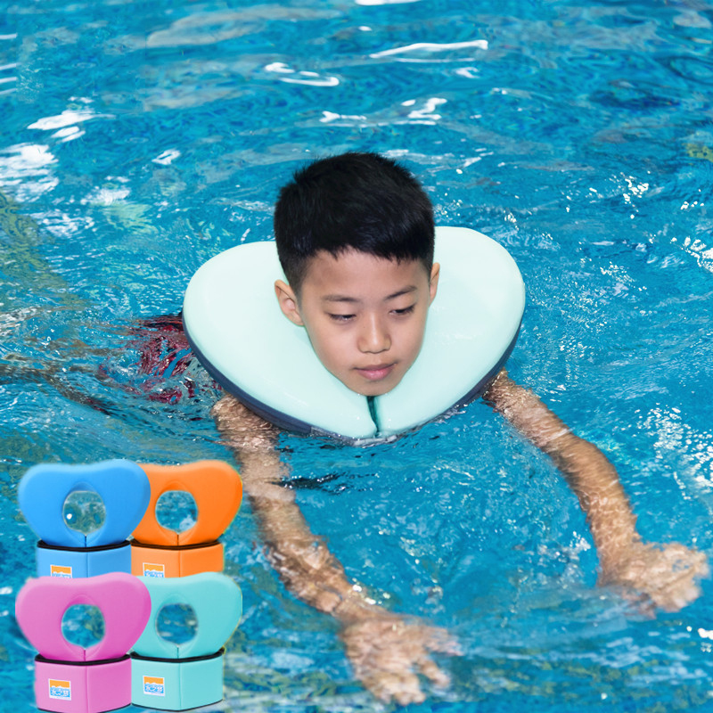 2PCS Kids Swimming Accessories Neck Ring Tube Safety Infant Float Circle For Swimming Inflatable Children Swimming Ring