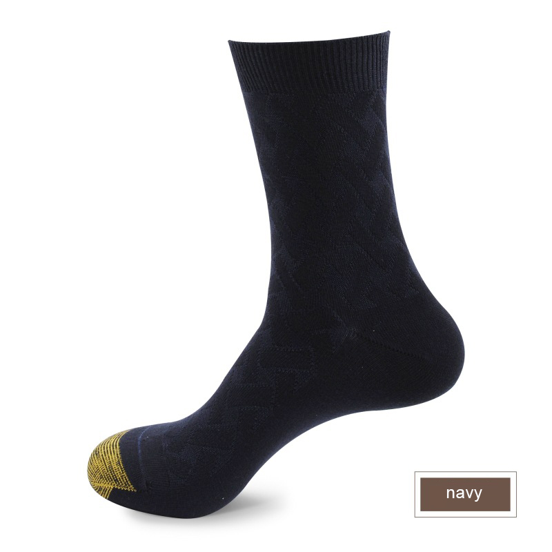 Image 3 - High Quality Men Winter Bamboo Fiber Socks Men Square Compression Business Dress Long Socks Deodorization Breathable 6pairs/lot-in Men's Socks from Underwear & Sleepwears