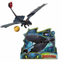 How to Train Your Dragon 3 Limited launch bullet Light Fury night fury Toothless Can fire bullet Action figure White Dragon Toy