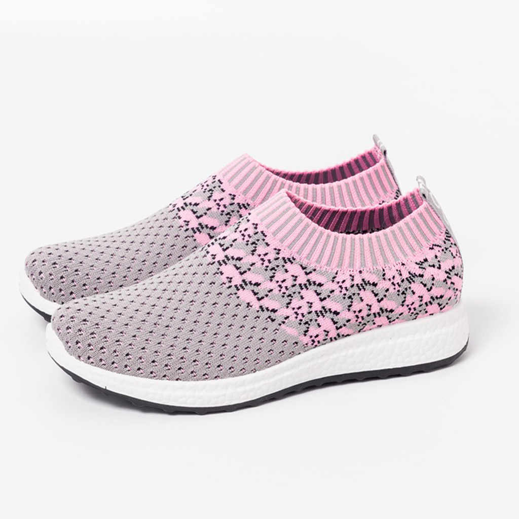 Ladies Footwear Sneakers Woman Sports Shoes 2019 Breathable Mesh Women's Sneakers For Women Running Shoes Light Casual Shoes
