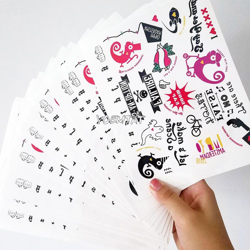 Персонализед Темпорари Таттоо - Тетоважа и боди арт - Фотографија 5