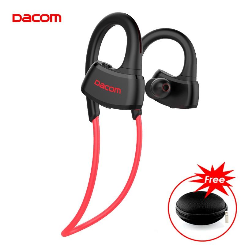 DACOM nouveau P10 IPX7 étanche en cours d'exécution casque Bluetooth écouteurs sport stéréo musique casque pour téléphones fone de ouvido