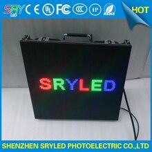 Крытый P4.81 аренда светодиодный дисплей литья алюминиевый корпус 500 мм * 500 мм для сцены Аренда светодиодного экрана стены