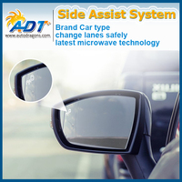 REAL TIME Monitoring 24 GHZ radar Car BSW/ BSD system Best Blind Spot Detection System fit for TEANA J33 With Rear Mirror