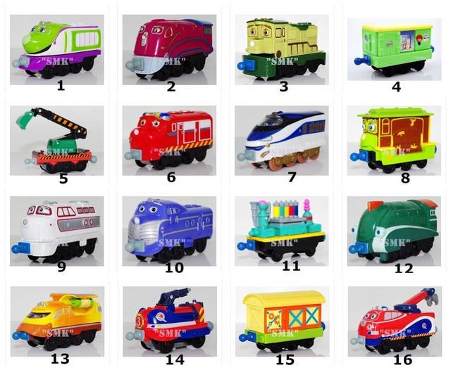 100% ORIGINAL CHUGGINGTON TRAIN, Toys for children, Alloy