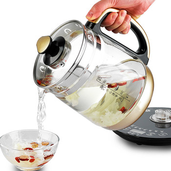 Electric kettle Fully automatic  thickened glass multi-function boiling tea  tea-making Safety Auto-Off Function