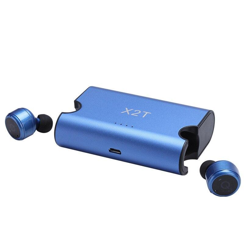 X2T Syllabe Auriculaire Bluetooth Casque Jumeaux Stéréo mi ni Bluetooth Écouteurs Dans L'oreille Écouteurs avec mi c pour Xiao mi mi mi X Pro