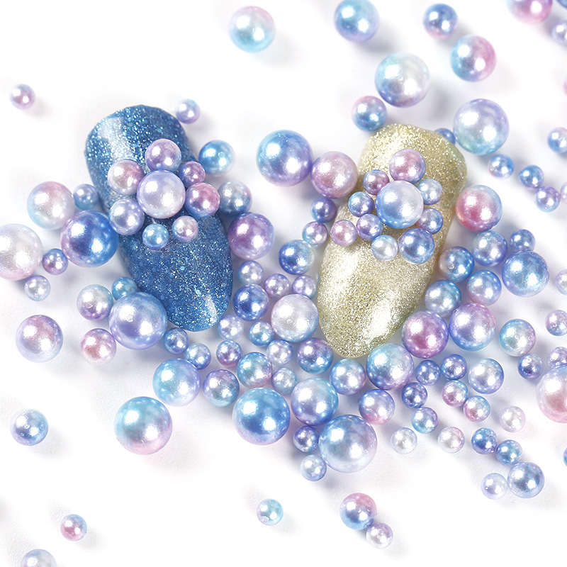 Aliexpress.com : Buy Mixed Size Pearlized Round Nail Art