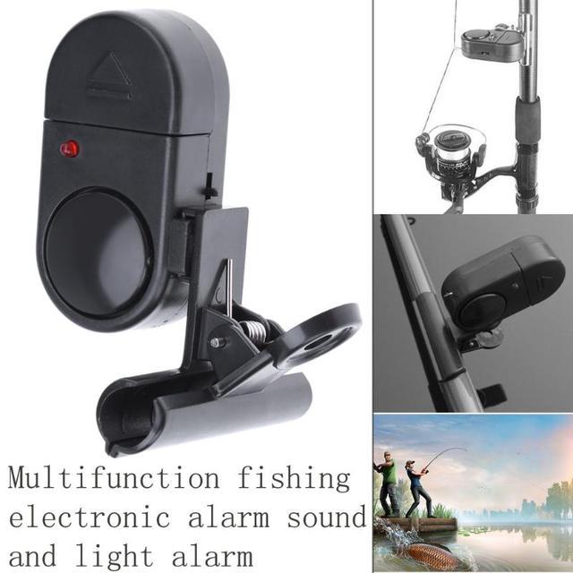 Cebo de pesca, Alertor, accesorios de campana, alarma de mordida Digital de alta sensibilidad, indicador de mordida, banda en la caña de pescar, carpa al aire libre