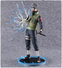 Naruto Action Figure Hatake Kakashi PVC Figure 280mm Anime Naruto Shippuden Collectible Model Toys Sukea
