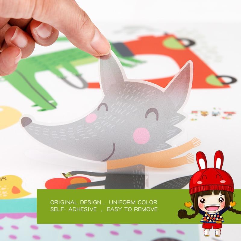 Sticker për kafshë pyjore për dhoma për fëmijë Dhoma në - Dekor në shtëpi - Foto 4