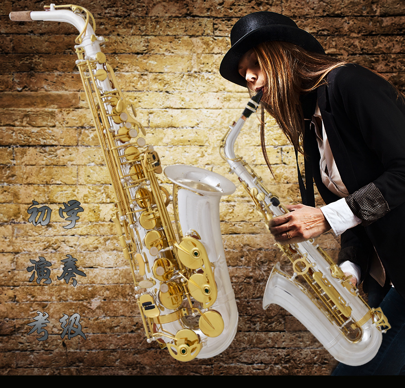 France Henry SELMER Reference 54 Alto Saxophone Professional Instrument Music Drop B Adjustable Gold Plated Sax