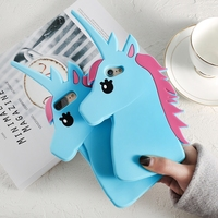 For IPhone 7 Case 3D Unicorn Horse Silicon Phone Cases Cover For Iphone 7plus 6 S
