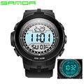 Nueva Moda casual Reloj Digital Resistente Al Agua 30 M Hombres Deportes Militar Relojes electrónicos LED Al Aire Libre del relogio masculino