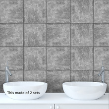 American  Tiles Wall Stickers for Bathroom DecorationSelf- Adhesive Waterproof PVC TS001