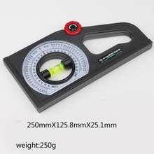 +/- 1 degree Accuracy Angle Meter Multifunctional Slope Measuring Instrument Slope Scale inclinometer Angle Feet Foot Horizontal