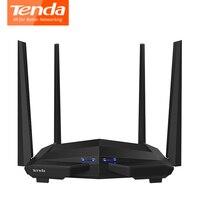 Tenda AC10 1200Mbps Wireless WiFi Router 1GHz CPU 128M DDR3 1WAN 3LAN Gigabit Ports 4 5dBi