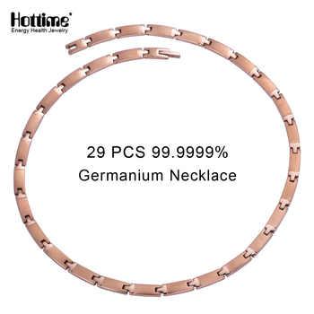 Hottime 29 PCS Full 99.9999% Germanium Necklace Pure Titanium Necklaces To Reduce Cervical Pain Prevention of cervical spondylos - DISCOUNT ITEM  30% OFF All Category