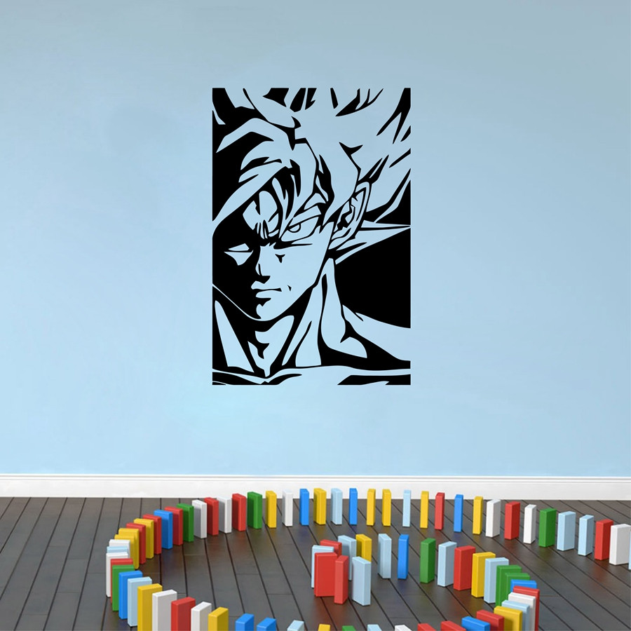 Dragon ball z wall decor sticker tree