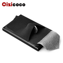 купить 2019 New Credit Card holder New Metal ID Card Holder Anti Rfid Wallet Business Card Holder Wallet For Credit Cards Case дешево