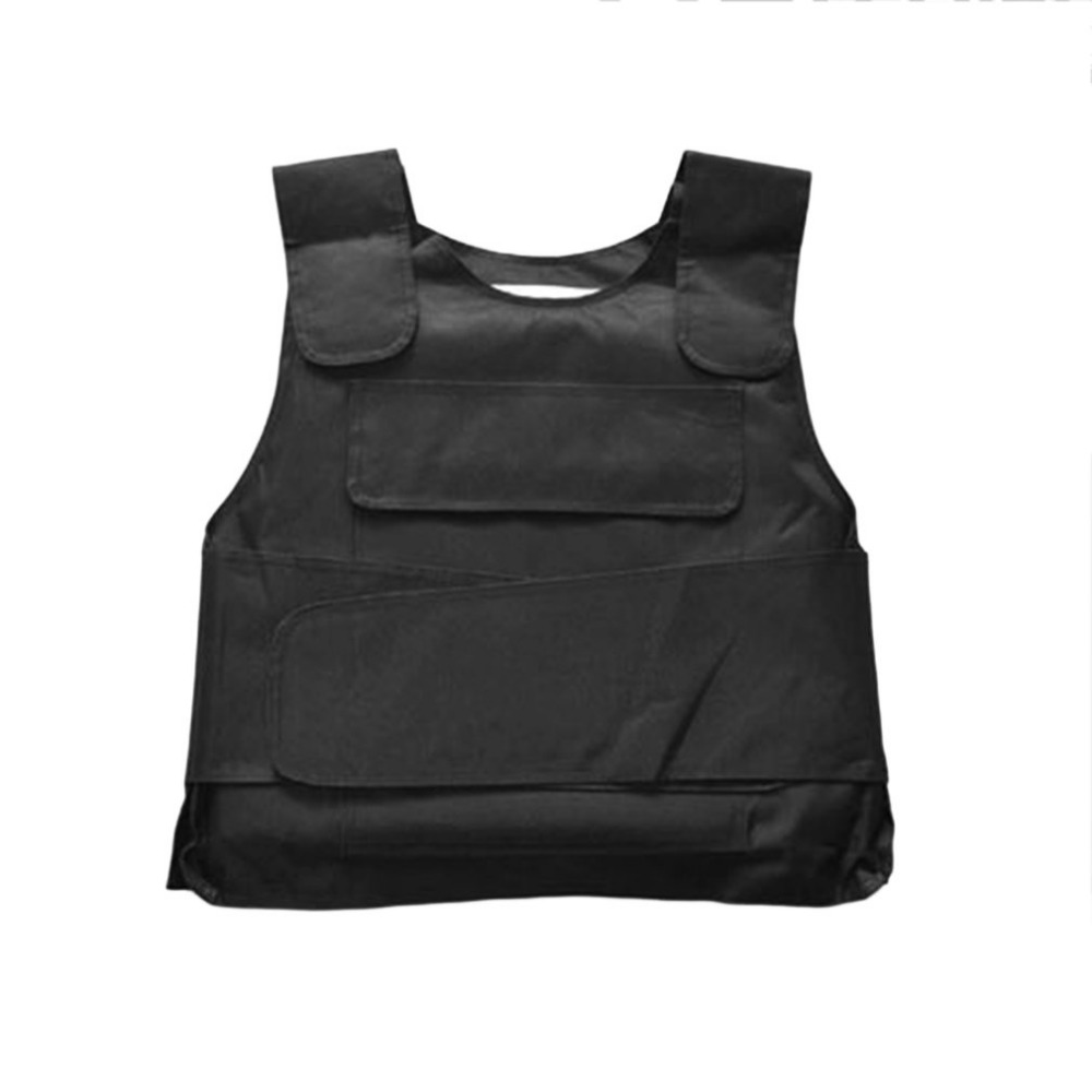 Breathable Tactical Vest Stab vests Anti Tool Self-Defense Service Equipment Outdoor Self-Defense Vest Supplies Black