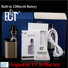 Ect C30 мини Комплект Топ заполнения kenjoy встретился 2 мл распылитель Built-in1200mAh Батарея испаритель поле mod электронные сигареты мини-поле mod