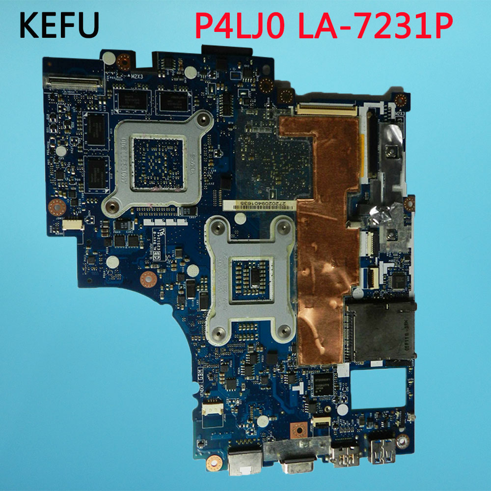 KEFU For ACER 4830 4830T Laptop Motherboard MB.RGP02.001 MBRGP02001 P4LJ0 LA 7231P free shipping-in Motherboards from Computer & Office    3