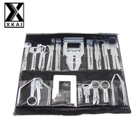 XKAI 38Pcs Set Car Stereo Radio Release Removal Tools Key Kit For Benz Sony Ford Audi