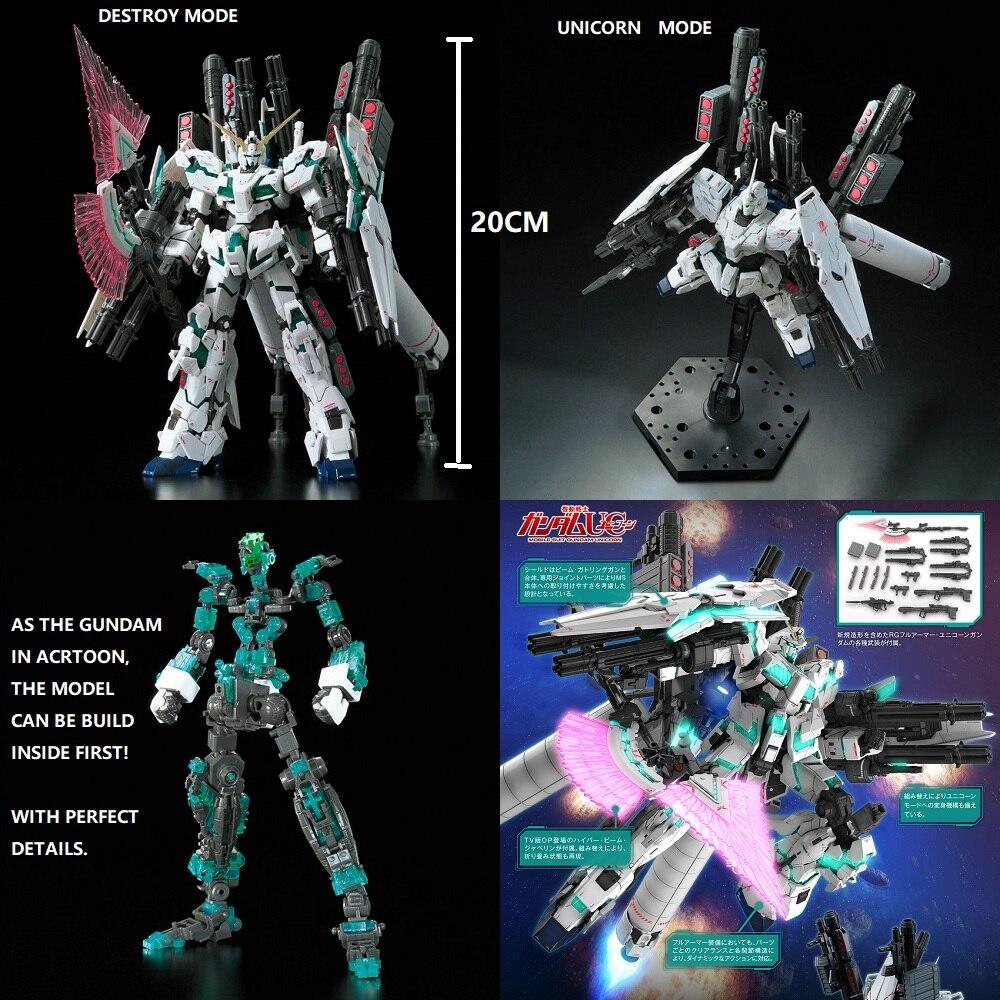 BANDAI RG Full Armor Unicorn Gundam RX-0 1//144
