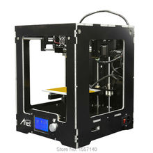 Full Assembled Desktop 3D Printer A3 Build Volume 150 150 150mm LCD Screen 12864 Filament 1