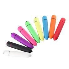 9 Colors 10 Speed Anal Mini Vibrator Bullet Waterproof Clitoris Stimulator Dildo Erotic Accessories Butt Plug Sex Toys For Woman
