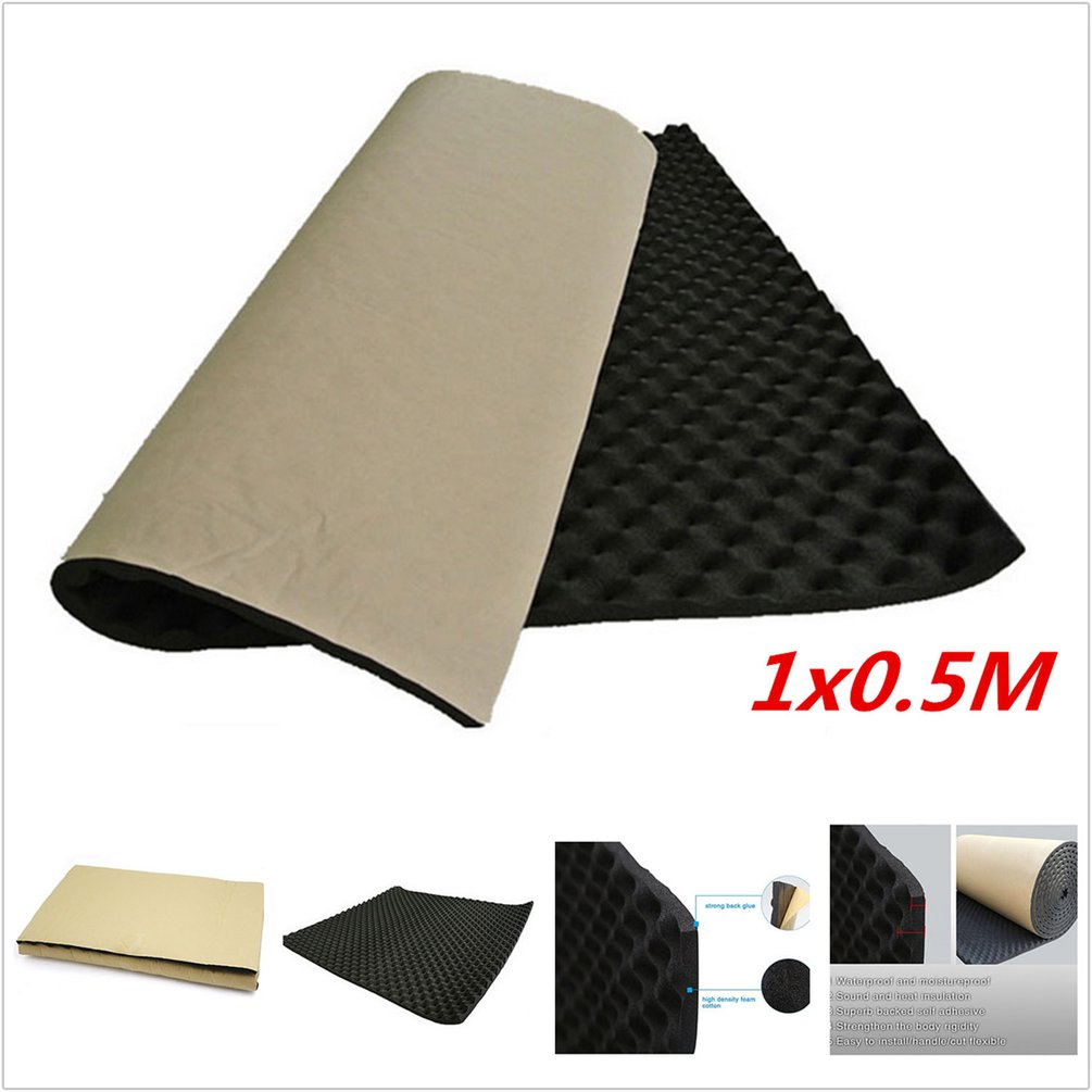 Universal Design Portable Automobile Car Sound Deadener Noise Insulation Acoustic Dampening Foam Subwoofer Mat