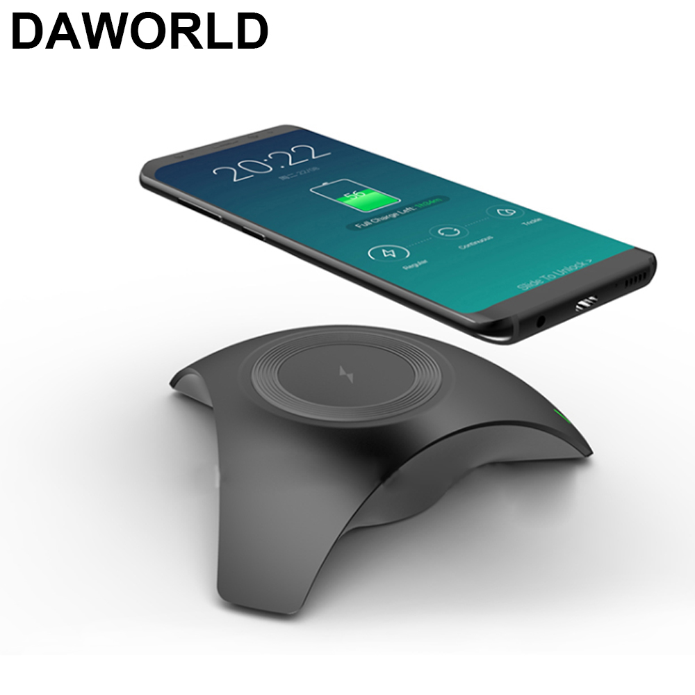 DAWORLD Fast Charger Qi Wireless Charger Charging for Samsung Galaxy S9/S9 iphone8/X/PLUS