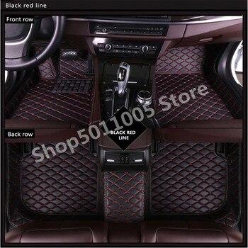 Car Floor Mats For BMW E30 E34 E36 E39 E46 E60 E90 F10 F30 X1 X3 X4 X5 X6 740 525 Car Accessories Styling Custom Foot Mat