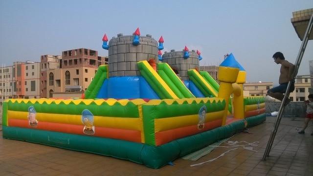 (China Guangzhou) manufacturers selling inflatable slides, inflatable castles, Inflatable bouncer  CHB-221