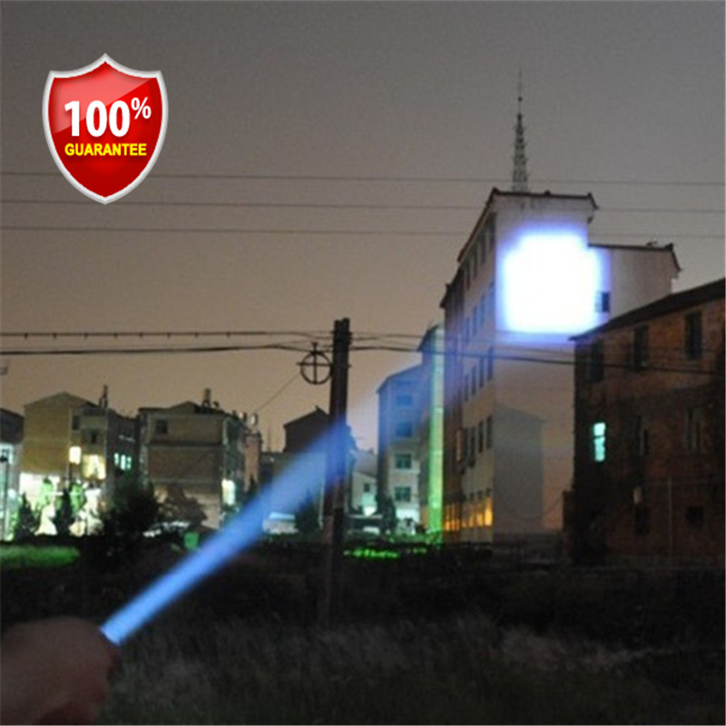 1 stks lanterna Hoge kwaliteit merk Draagbare led zaklamp 3xAAA - Draagbare verlichting