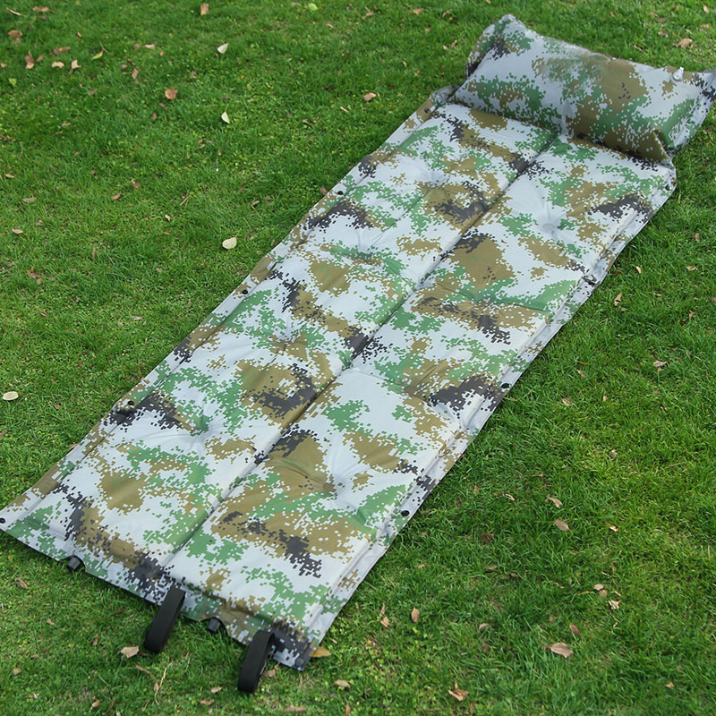 Waterproof The Inflatable Mattress For Outdoor Camping Cheap Mattress Stores For Sleep Inflatable Bed Camouflage Air Mattress  5