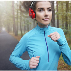 Image 2 - SH S1 HiFi Headset earphones Wired Sports Headphone With TF Card Max to 32GB FM Radio AUX In Function Super Bass MP3 Head Set
